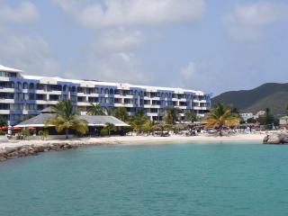 ROYAL PALM BEACH #101 ...affordable 3 BR beachfront resort!  Close to - Simpson Bay vacation rentals