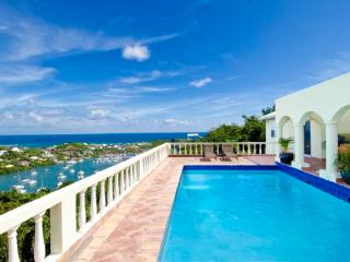 ARCADIA... charming hillside villa... wonderful views of the sea and marina... - Oyster Pond vacation rentals