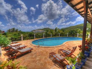 MAHOGANY... a great family villa in a quiet location with only 222 easy steps - Guana Bay vacation rentals