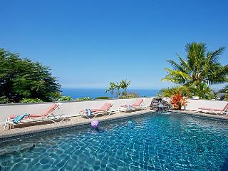 A Perfect 10 *** Ocean View Pool Waterfall Hot Tub - Kailua-Kona vacation rentals