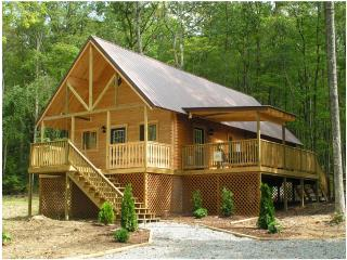 Luxury Cabin with outdoor hot tub nestled in WV - Hico vacation rentals