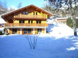 Spacious 5 bedroom Samoëns Chalet with Deck - Samoëns vacation rentals