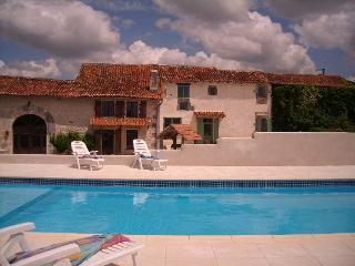 4 cottages:  large swimming pool & stunning views - Chavenat vacation rentals