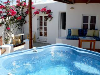Kamari Villa-A2-w/private outdoor spa/Jacuzzi, in Naxos-Greece - Naxos vacation rentals