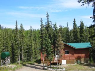 Coal Creek Cabins.....Cabin rental in Alaska's quiet wilderness setting - Kasilof vacation rentals