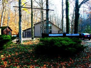 The Saltbox Lodge, (website: hidden) & beam woodland cabin - Shoals vacation rentals