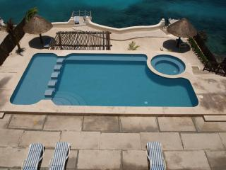BEACHFRONT FOR TWO ALL AMENITIES AT HALF THE PRICE - Cozumel vacation rentals