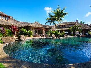 Anini Vista Estate - 80 Foot Pool, Spa & Grotto, - Kilauea vacation rentals
