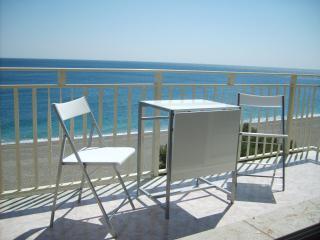 Beachfront apartment