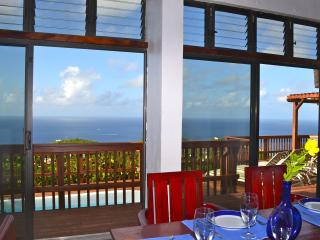 Amazing Ocean views at Villa Mar de Amores - Cruz Bay vacation rentals