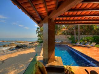 CASA CALETA-6-Bdrm Beachfront Villa-Conchas Chinas - Puerto Vallarta vacation rentals