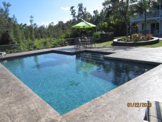 Custom Home w\POOL 1000 feet from the ocean! - Keaau vacation rentals