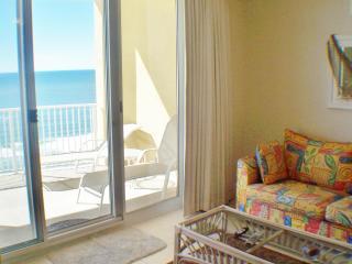 Amazing views,x lg balcony,tile,tropical,fun, 2/2 - Panama City Beach vacation rentals