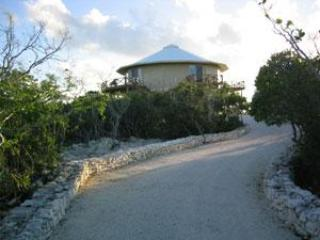 Driveway to the house - Beautiful Home with spectacular 360 degrees views! - Staniel Cay - rentals