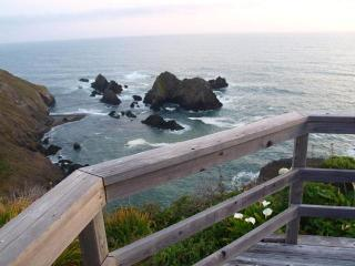 Ocean Front Home on 7 Acres (Seacliff Hideaway) - Mendocino vacation rentals
