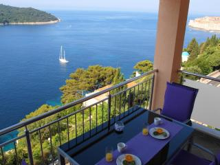 02| Exclusive Seafront 2-BR with Balcony & Parking - Dubrovnik vacation rentals