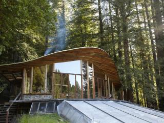 Parabolic All-Glass House in the Redwoods - Fort Bragg vacation rentals