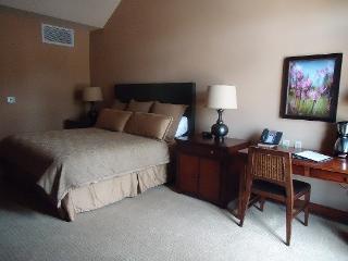Lodge 316- Hotel Room with King Bed and Outdoor Balcony. Sleeps 2. WIFI. - Tamarack Resort vacation rentals