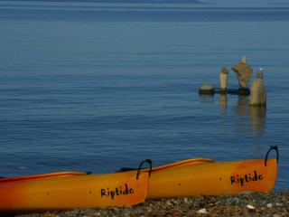 Beachfront 2 bdr 3rd nite FREE kayaks clam/oysters - Qualicum Beach vacation rentals