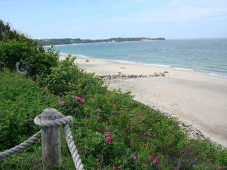 Steps from cottage to beach path and this magnificent beach. - Romantic Getaway for Two - Manomet - rentals