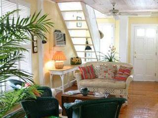Living Room - Lighthouse View Cigar Makers Cottage Key West - Key West - rentals