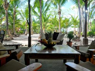 BEACHFRONT PALM VILLA with private pool at Santa Teresa Beach - Santa Teresa vacation rentals