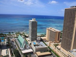 Spectacular 35th Floor Ocean View Corner Condo $13 - Honolulu vacation rentals