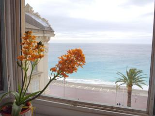 SEA VIEW 2 bd apt, across the beach, Vieux Nice - Nice vacation rentals