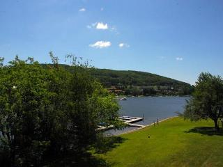 Charming 4 Bedroom lakefront townhome with heated indoor community pool! - McHenry vacation rentals