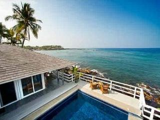 Turtle Rock - Ocean Front Cottage with pool - Keauhou vacation rentals