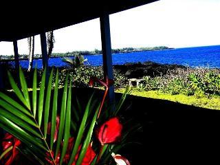 Oceanfront 3 Bedroom Alohahouse on the Puna Coast! - Pahoa vacation rentals