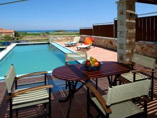 Corali villa with beautiful sea and mountain view - Chania vacation rentals