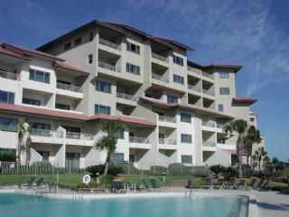 Exterior of building with pool - Beautiful Amelia Island Oceanfront Condo - 1BR - Amelia Island - rentals