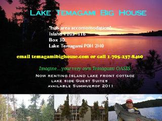 Lake Temagami Hub Island Vacation Cottage rental - Temagami vacation rentals