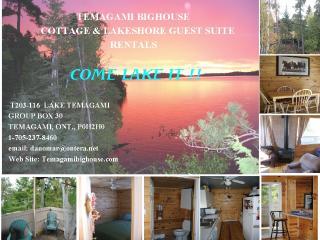 Lake Temagami Hub Island Vacation Cottage rental - Temagami vacation rentals