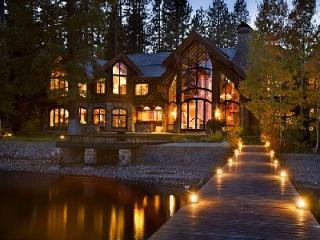 Nineteen-Seventy offers 12,000 ft² of lavish lakefront living with pier & jacuzzi - Tahoe Vista vacation rentals