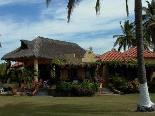 Tropical Beachfront Villa on Pristine Turtle Beach - Riviera Nayarit vacation rentals