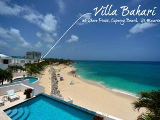 BAHARI... breathtaking sunsets from this fabulous beachfront villa at Shore - Cupecoy vacation rentals