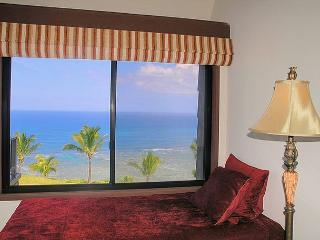 Sealodge F9: Ocean front views from the only top floor condo in the building! - Princeville vacation rentals