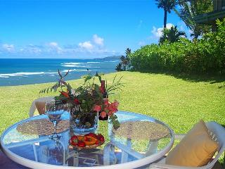Sealodge J1: Oceanfront and private, more like a cottage than a condo - Princeville vacation rentals
