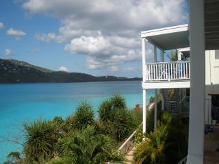 Beachfront Condo - two Bed/one bath - private deck - Saint Thomas vacation rentals