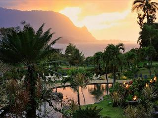 Bali Hai ocean view in premium resort, walk or ride to beach! A/C - Princeville vacation rentals