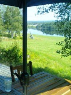 View from the porch - Overlooking the river in Älvdalen, Dalarna - Dalarna - rentals
