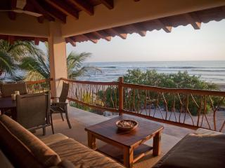 Beachfront 1BR+ w/panoramic views & fab swim beach - Troncones vacation rentals