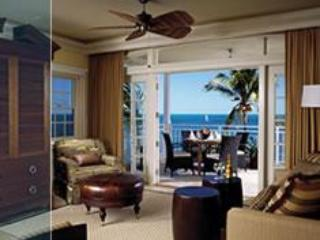 Living Room of 2 bedroom - Oceanfront 2 Bedroom Condo, Old Bahama Bay Resort - Bahamas - rentals