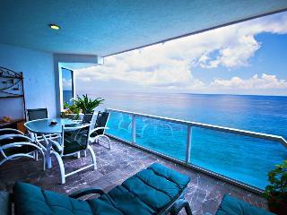 MAGNIFICENT OCEAN VIEWS! Puesta del Sol Phase 2, CONDO# 6 North - Cozumel vacation rentals