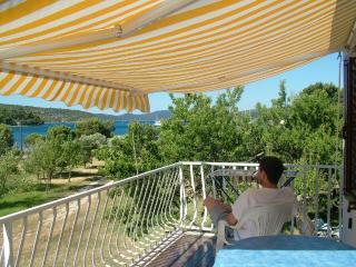 Beachfront apartment-great balcony views - Mljet vacation rentals