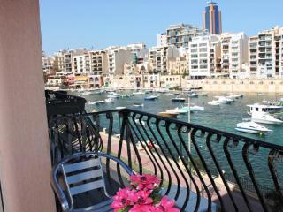 St Julian's Three Bedroom Seafront Apartment - Saint Julian's vacation rentals