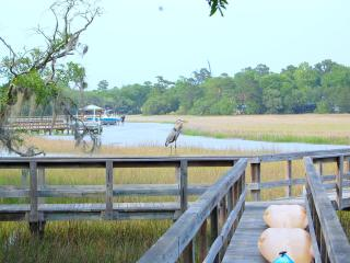 Waterfront Beauty|4BR-+3.5 BTH|kayaks-dock-hot tub - Charleston vacation rentals