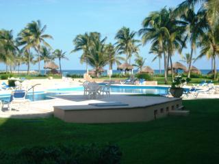 2 BR GROUNDFLOOR BEACH VDM POOL WIFI EXTRA BEDS - Puerto Aventuras vacation rentals